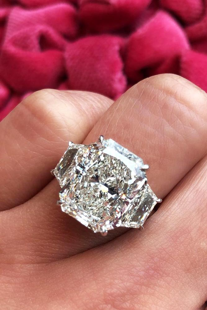 white gold engagement rings emerald cut engagement rings three stone engagement rings diamond engagement rings best rings