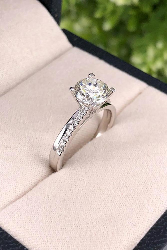 white gold engagement rings solitaire engagement rings diamond engagement rings ring boxes