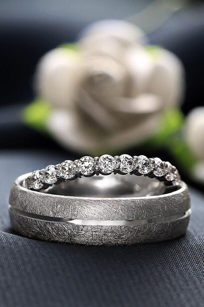 matching wedding bands white gold wedding bands diamond wedding bands wedding rings beautiful rings