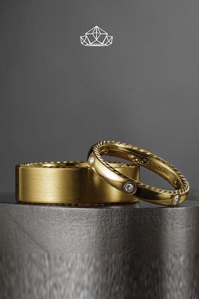 matching wedding bands yellow gold wedding bands unique wedding bands diamond wedding bands best rings