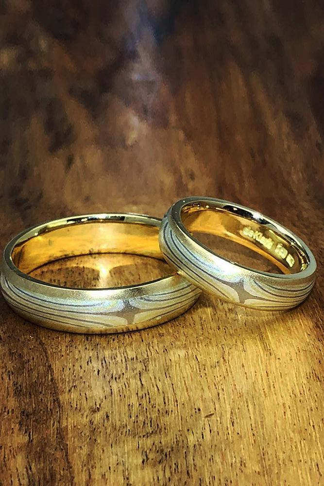 matching wedding bands yellow gold wedding bands unique wedding bands diamond wedding bands
