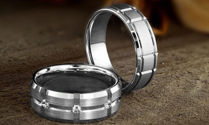 mens wedding bands diamond wedding bands white gold wedding rings