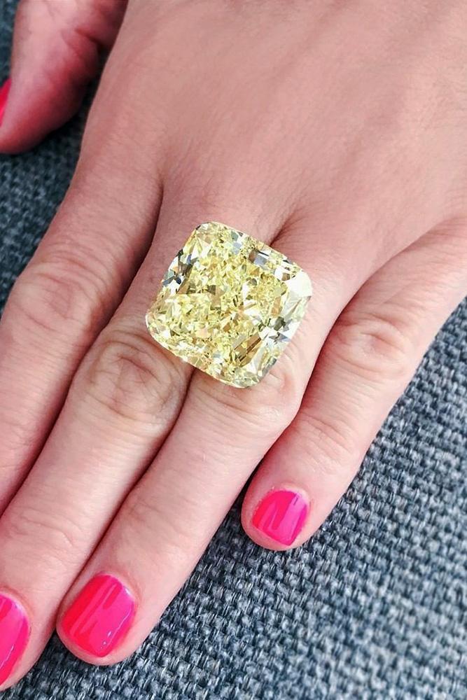 diamond engagement rings yellow diamond engagement rings white gold engagement rings cushion cut rings