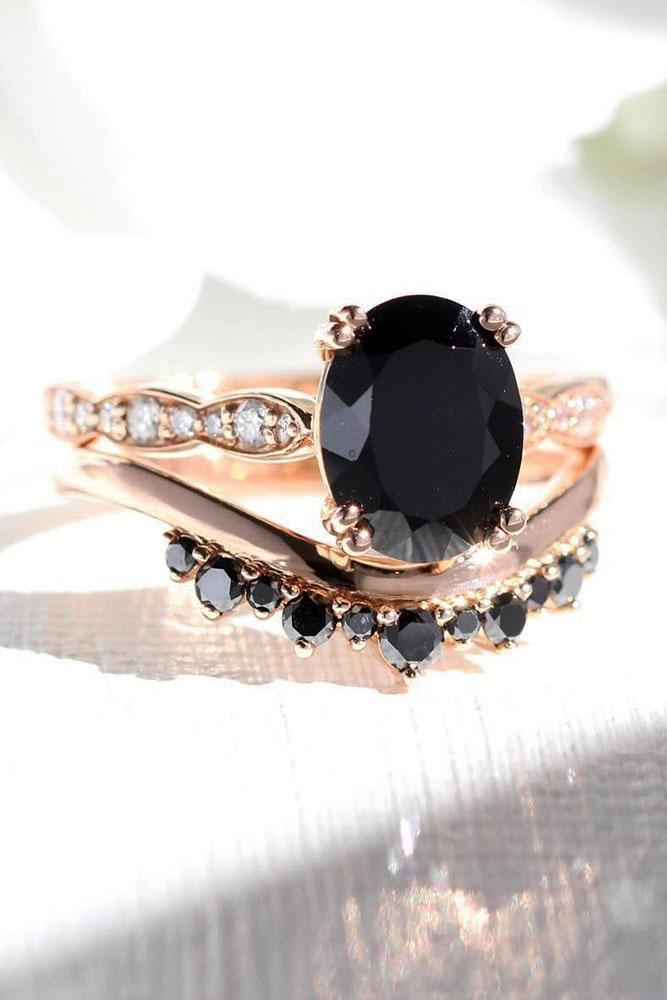 black diamond engagement rings wedding ring sets bridal sets unique wedding rings rose gold engagement rings oval diamond engagement rings