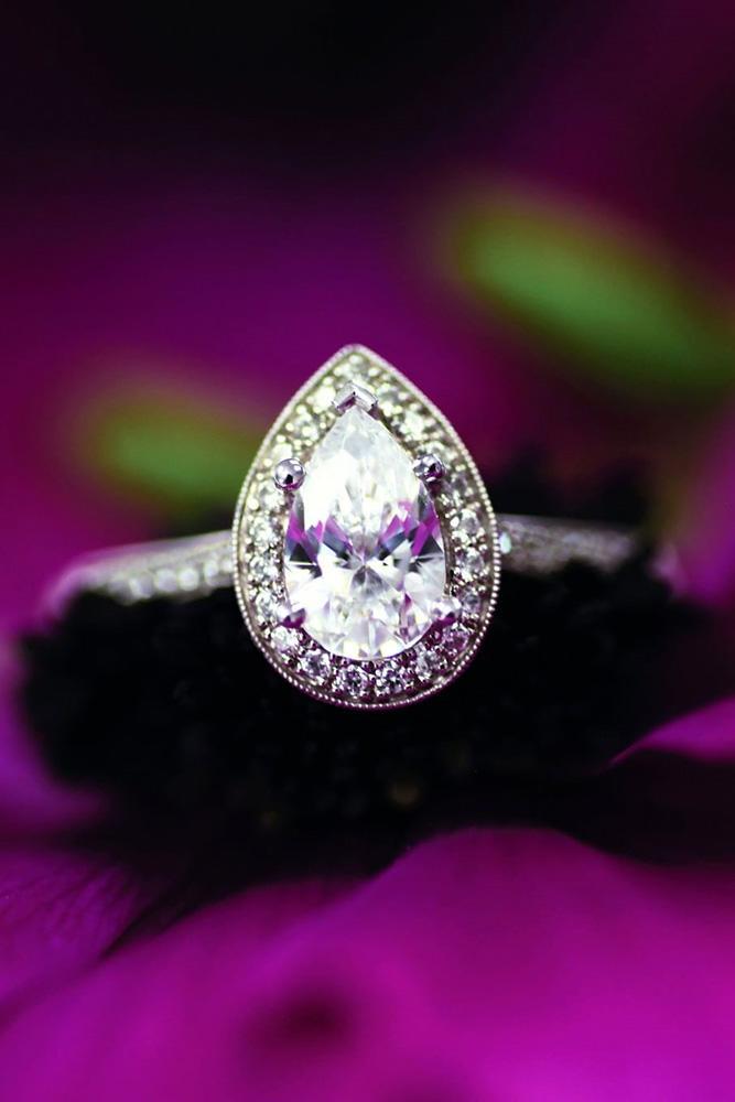 diamond engagement rings white gold engagement rings halo engagement rings pear shaped engagement rings best rings