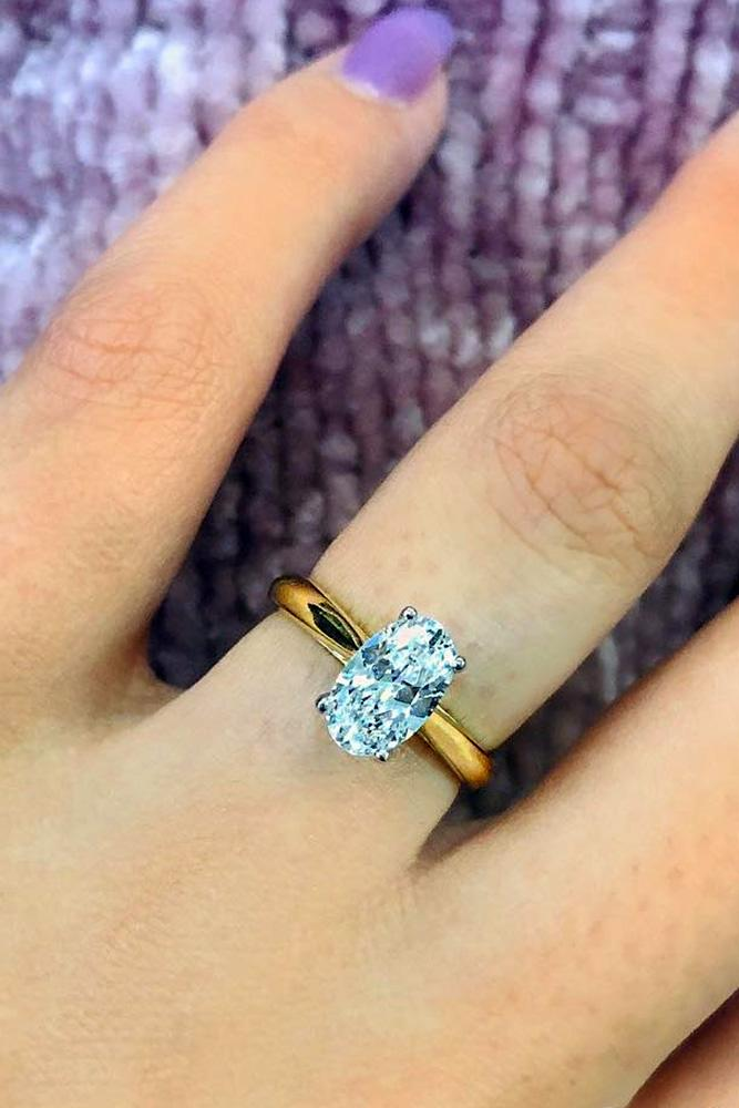oval engagement rings diamond engagement rings simple engagement rings yellow gold engagement rings solitaire rings