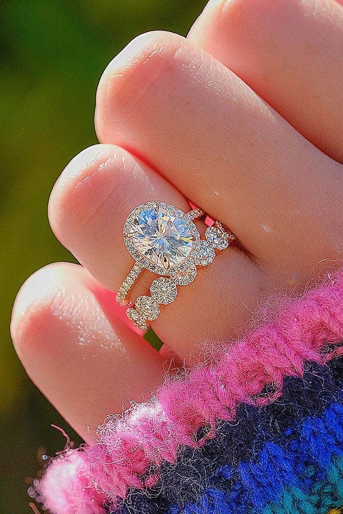 wedding ring sets bridal sets unique dimond rings wedding rings unique bridal sets rose gold engagement rings oval cut engagement rings