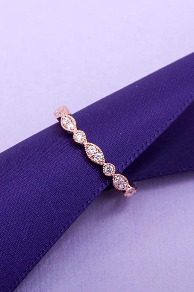bridal sets unique wedding bands wedding rings rose gold wedding bands beautiful rings rose gold wedding bands