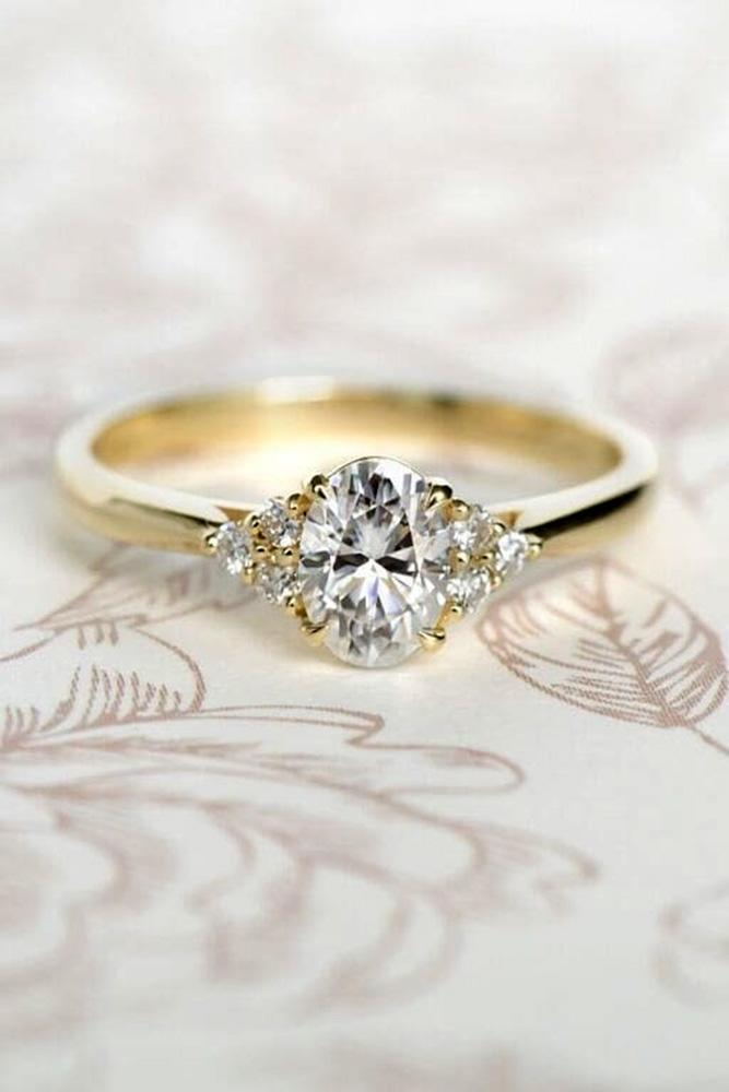 diamond engagement rings oval cut engagement rings rose gold engagement rings three stone engagement rings