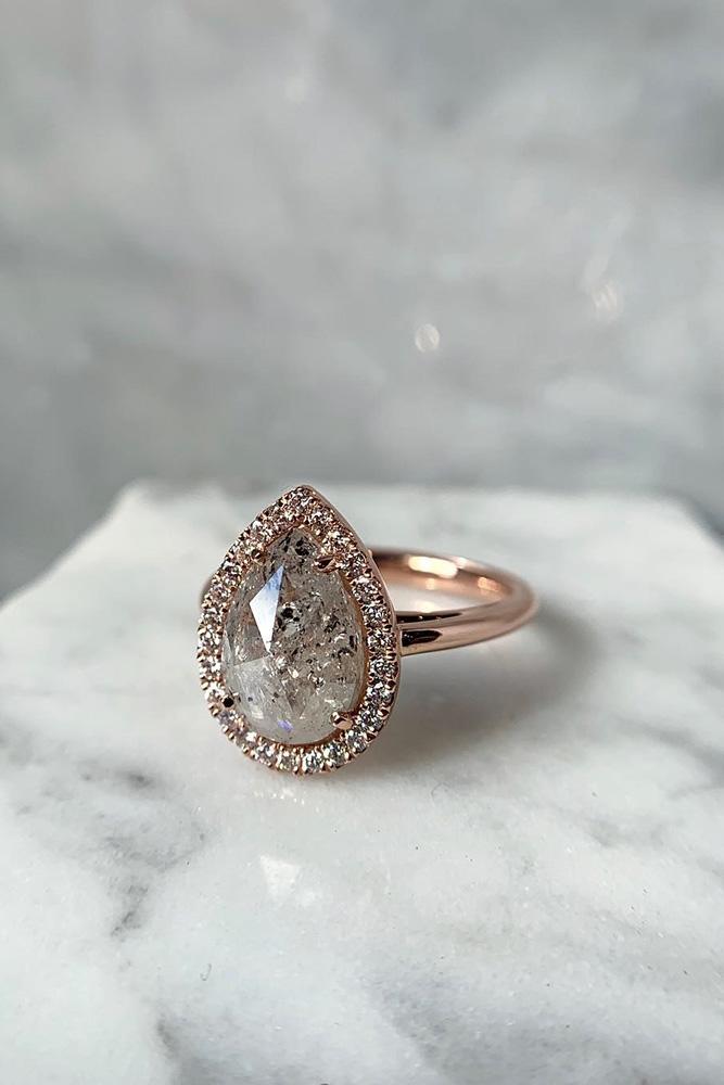 diamond engagement rings rose gold engagement rings pear shaped engagement rings halo engagement rings beautiful engagement rings