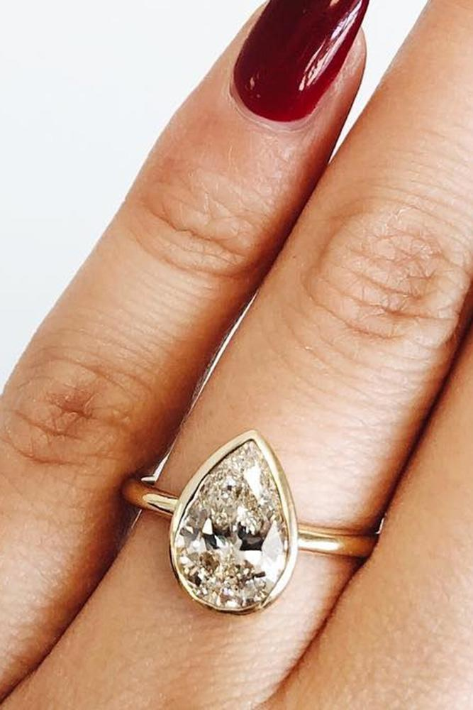 diamond engagement rings rose gold engagement rings pear shaped engagement rings simple engagement rings solitaire engagement rings