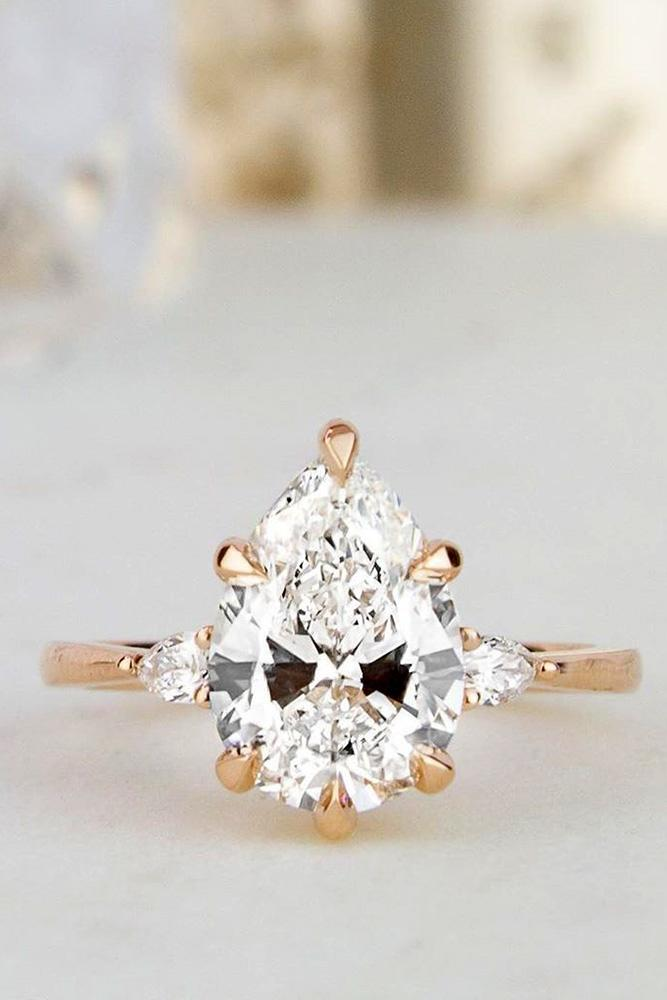 diamond engagement rings rose gold engagement rings pear shaped engagement rings three stone engagement rings solitaire engagement rings