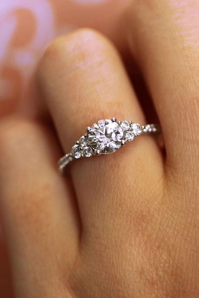 diamond engagement rings round engagement rings white gold engagement rings unique engagement rings best rings