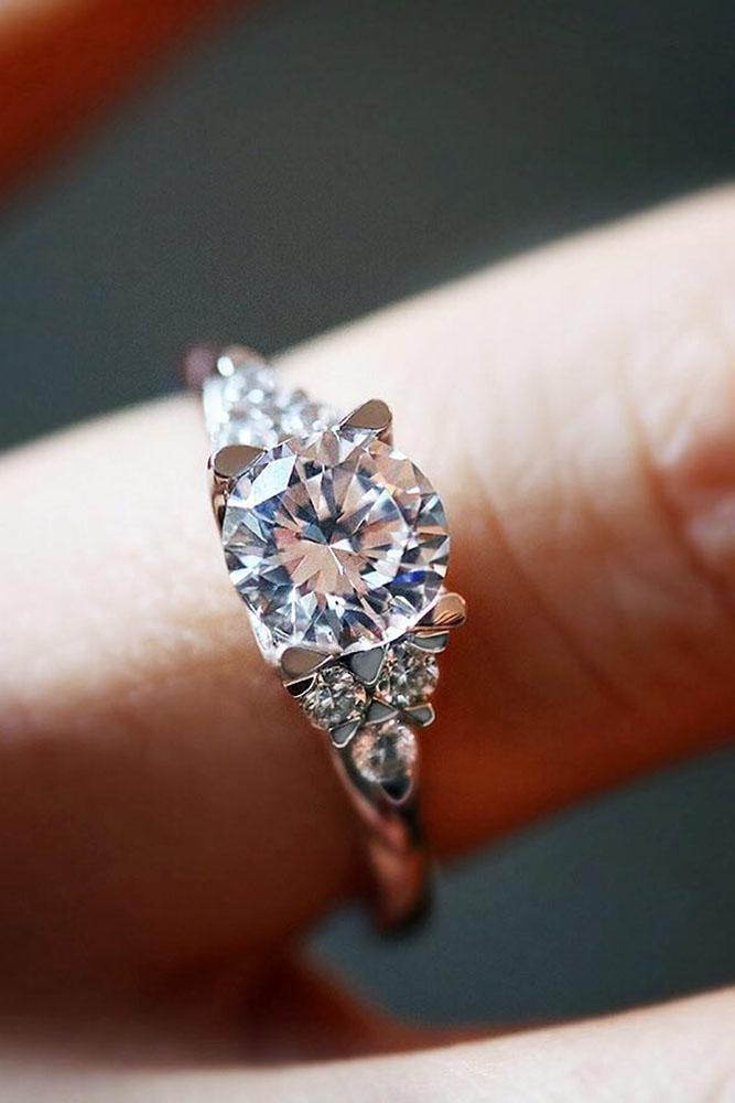 diamond engagement rings round engagement rings white gold engagement rings unique engagement rings best rings