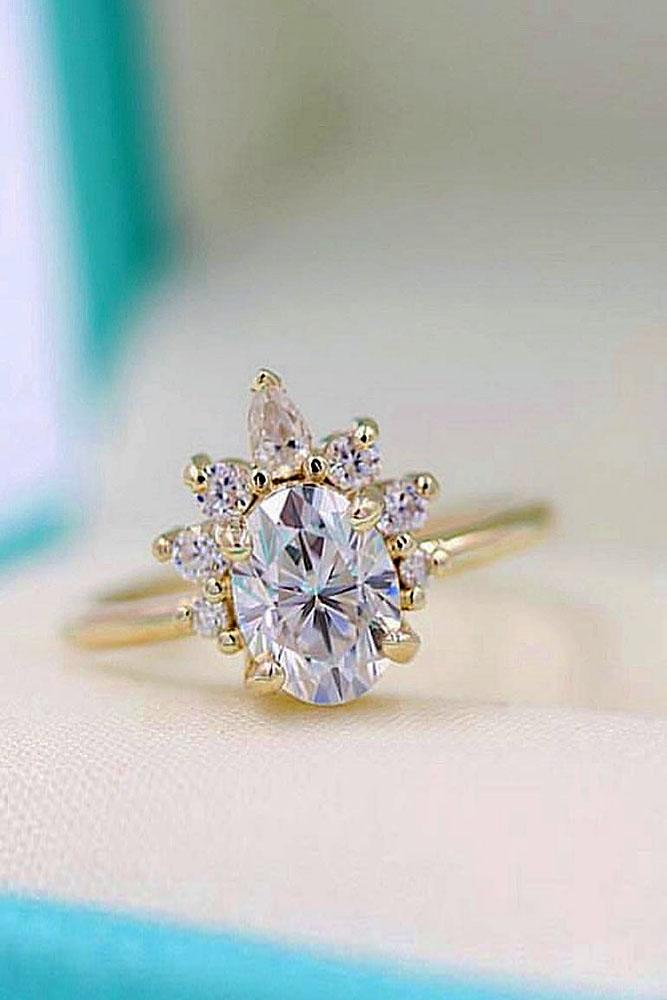 oval engagement rings rose gold enaggement rings moissanite engagement rings unique engagement rings