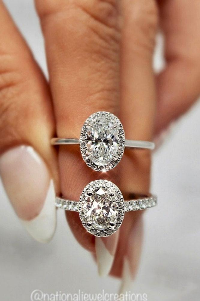 oval engagement rings white gold engagement rings diamond engagement rings halo engagement rings best rings