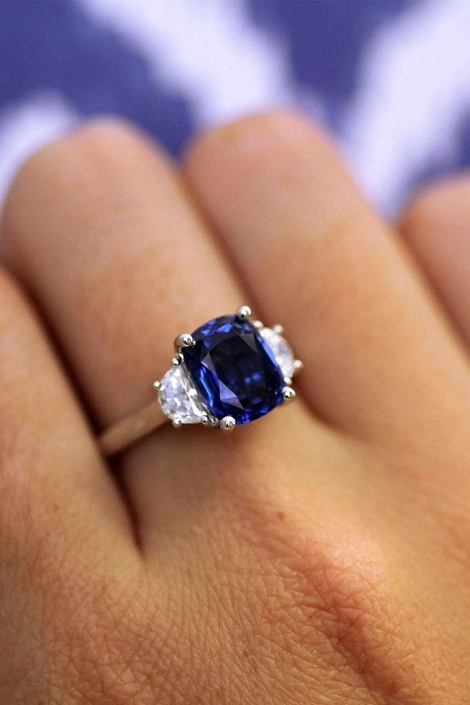 sapphire engagement rings three stone engagement rings diamond engagement rings white gold engagement rings