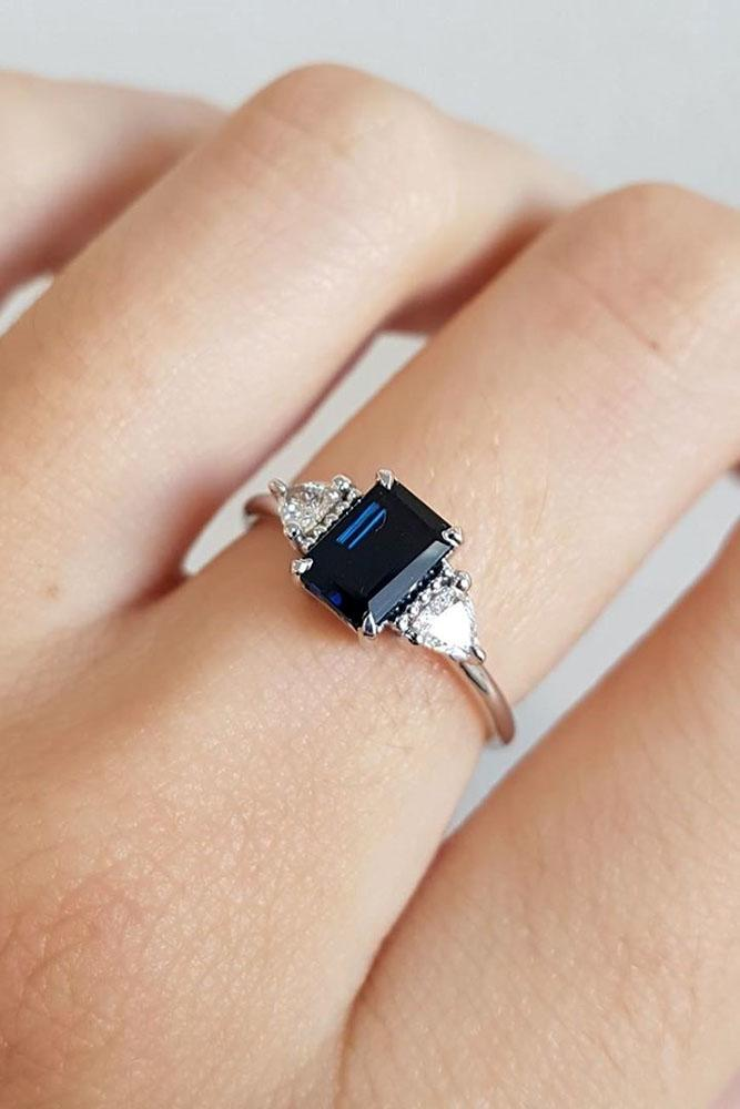 sapphire engagement rings three stone engagement rings diamond engagement rings white gold engagement rings