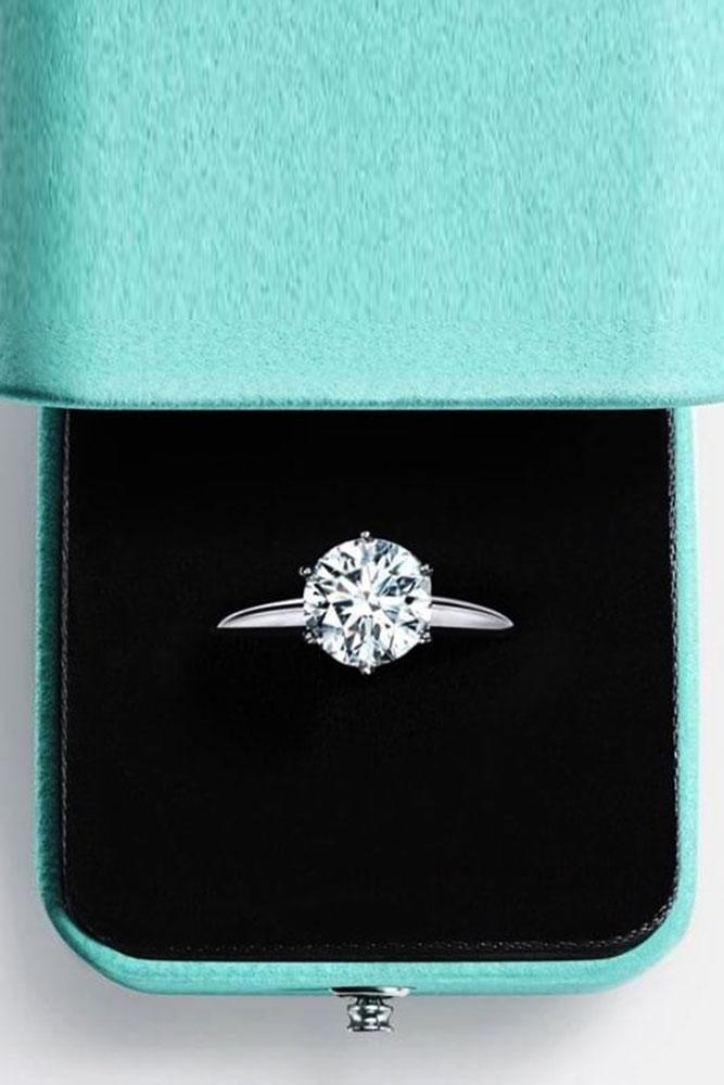 tiffany engagement rings white gold engagement rings solitaire engagement rings round cut diamond engagement rings classic engagement rings
