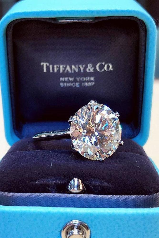 tiffany engagement rings white gold engagement rings solitaire engagement rings round cut diamond engagement rings simple engagement rings