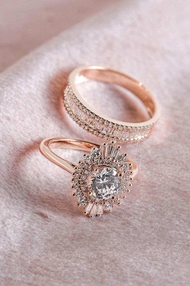 unique wedding rings diamond engagement rings rose gold engagement rings beautiful engagement rings
