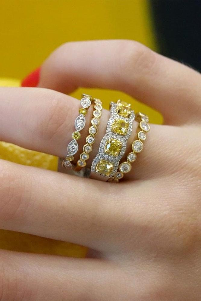 diamond wedding rings white gold engagement rings white gold wedding bands cushion cut diamond rings yellow diamond wedding bands