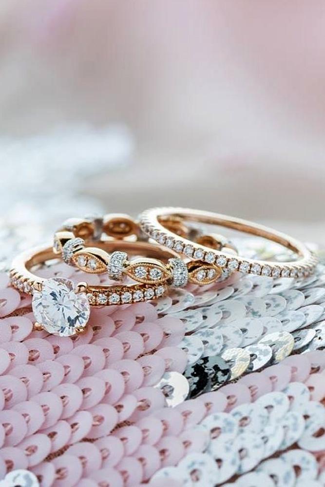 rose gold engagement rings kirk kara engagement rings round diamond engagement rings classic wedding ring sets vintage engagement rings