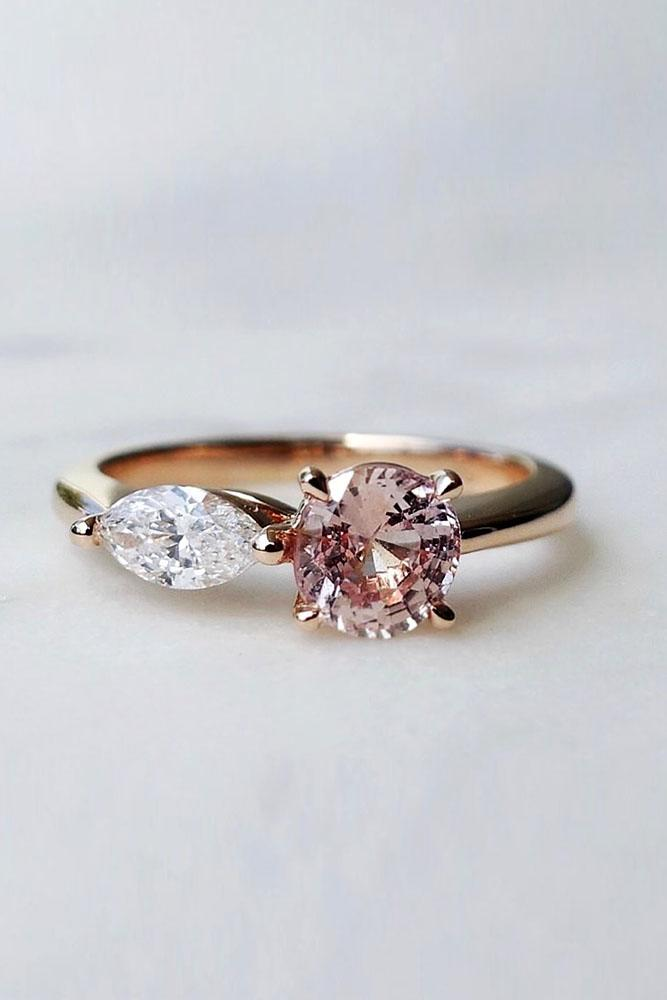 sapphire engagement rings unique engagement rings rose gold engagement rings diamond engagement rings best sapphire rings