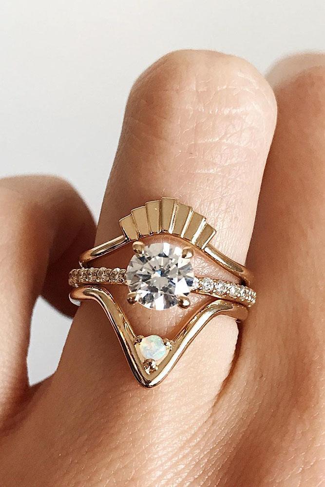 unique engagement rings round diamond engagement rings rose gold engagement rings beautiful engagement rings