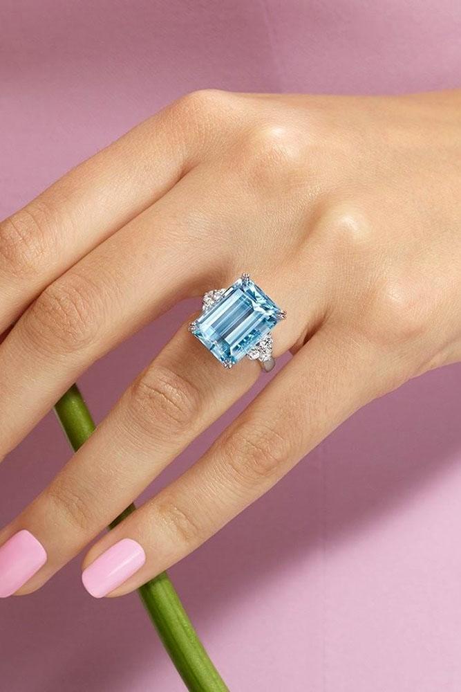 diamond engagement rings white gold engagement rings emerald cut engagement rings halo engagement rings blue diamond engagement rings