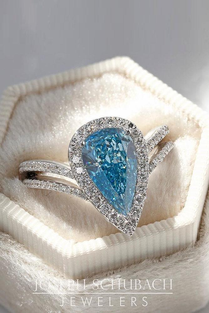 diamond engagement rings white gold engagement rings pear shaped engagement rings halo engagement rings blue diamond engagement rings