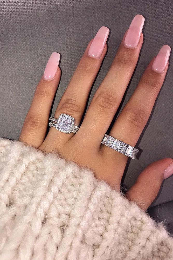 diamond wedding rings white gold engagement rings wedding ring sets bridal sets cushion cut engagement rings best rings halo rings