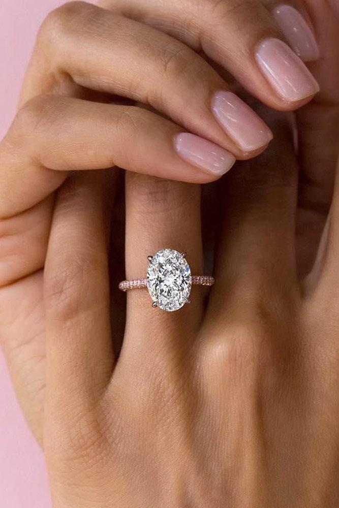 simple engagement rings classic engagement rings oval cut engagement rings rose gold engagement rings diamond engagement rings