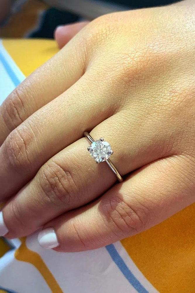 solitaire engagement rings simple engagement rings round engagement rings diamond engagement rings white gold rings