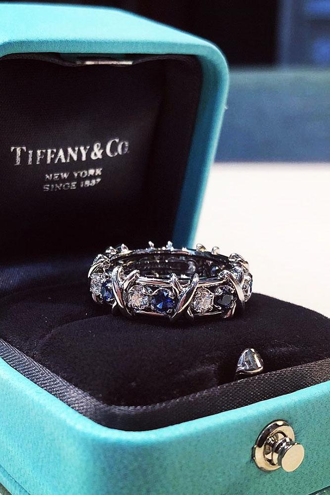 tiffany engagement rings eternal wedding bands unique wedding bands tiffany wedding bands ring boxes sapphire rings