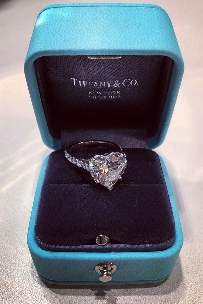 tiffany engagement rings heart cut engagement rings simple engagement rings white gold engagement rings ring boxes