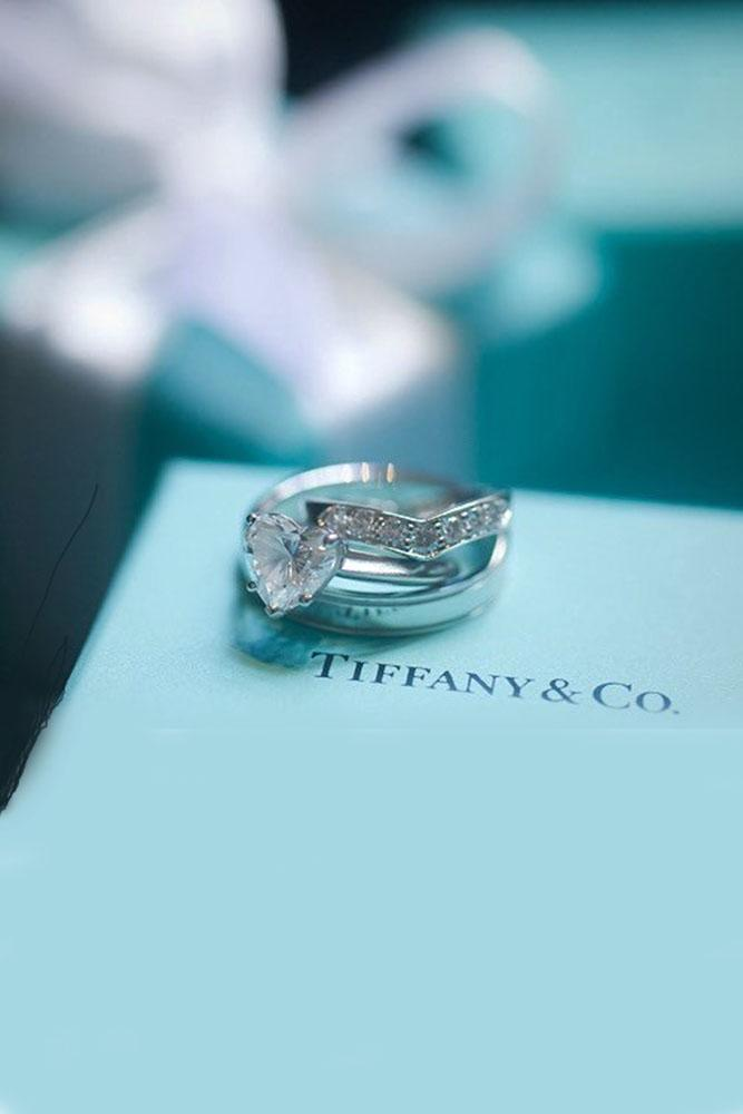 tiffany engagement rings heart cut engagement rings simple engagement rings white gold engagement rings wedding ring sets