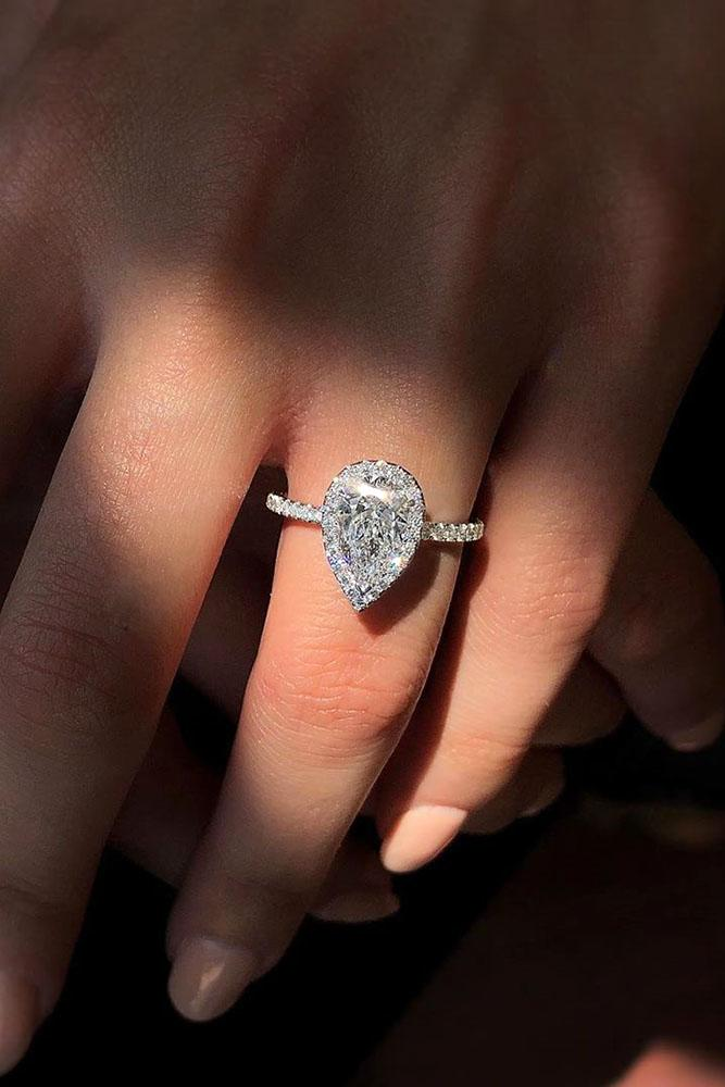 white gold engagement rings pear shaped engagement rings beautiful engagement rings halo engagement rings best engagement rings