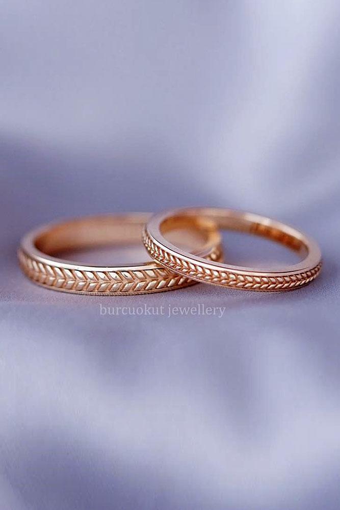 matching wedding bands rose gold wedding rings bridal sets rose gold bridal sets diamond rings unique wedding rings