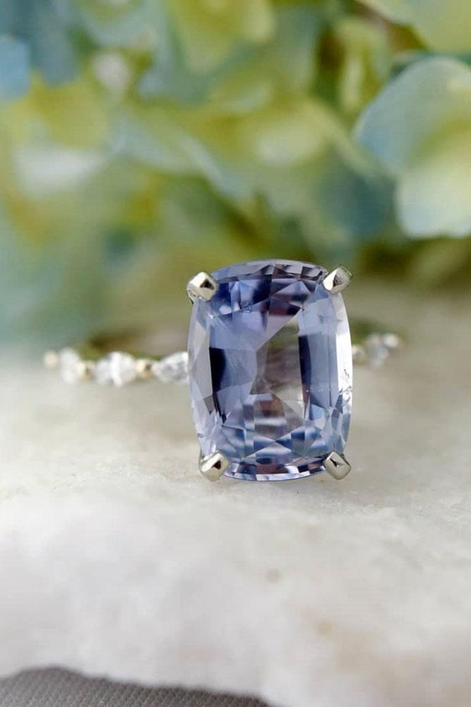 sapphire engagement rings solitaire engagement rings simple engagement rings rose gold engagement rings