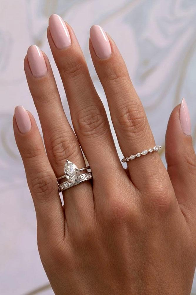 solitaire engagement rings white gold engagement rings pear shaped engagement rings diamond engagement rings