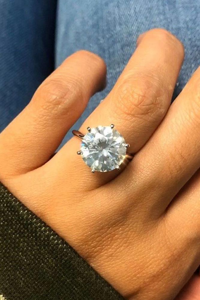 solitaire engagement rings white gold engagement rings round diamond engagement rings simple engagement rings