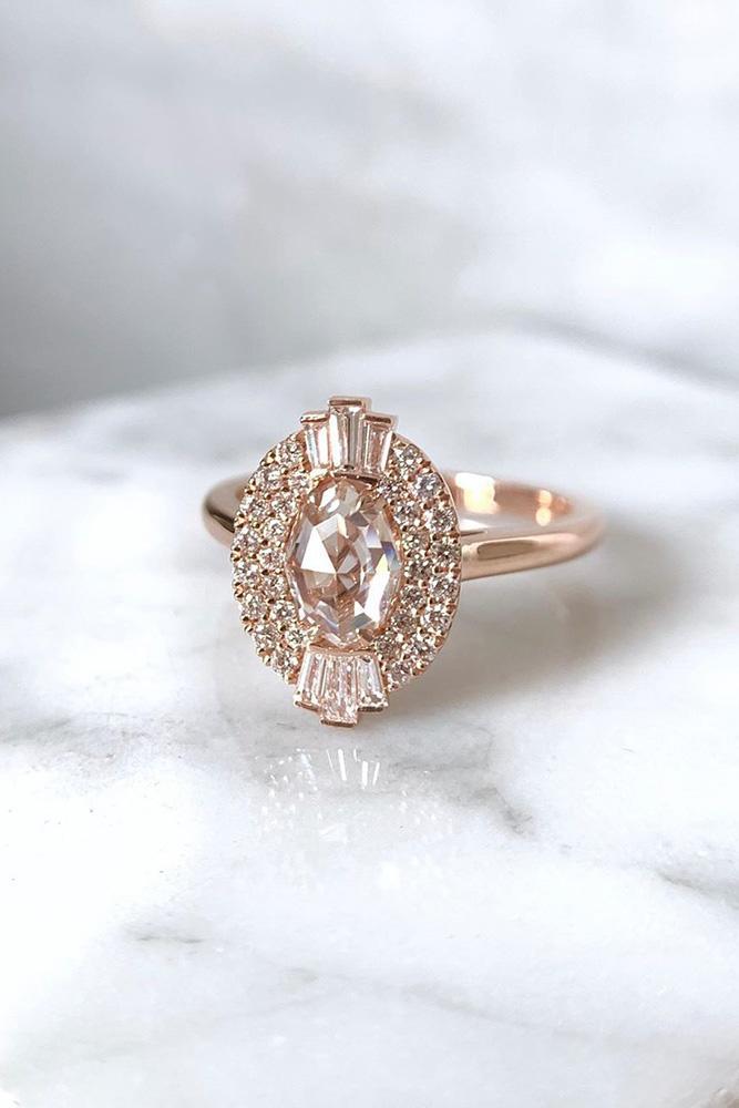 unique engagement rings rose gold engagement rings best engagement rings gemstone engagement rings oval cut engagement rings