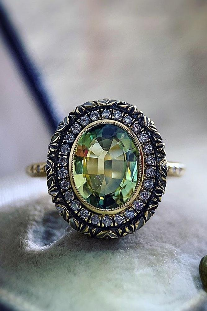 vintage engagement rings white gold engagement rings emerald engagement rings gemstone engagement rings antique engagement rings