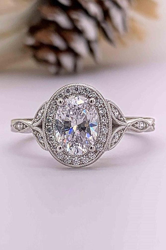 beautiful engagement rings vintage engagement rings white gold engagement rings oval engagement rings