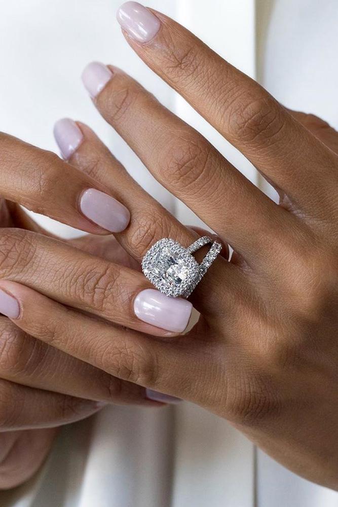 diamond engagement rings white gold engagement rings halo engagement rings cushion cut engagement rings beautiful engagement rings