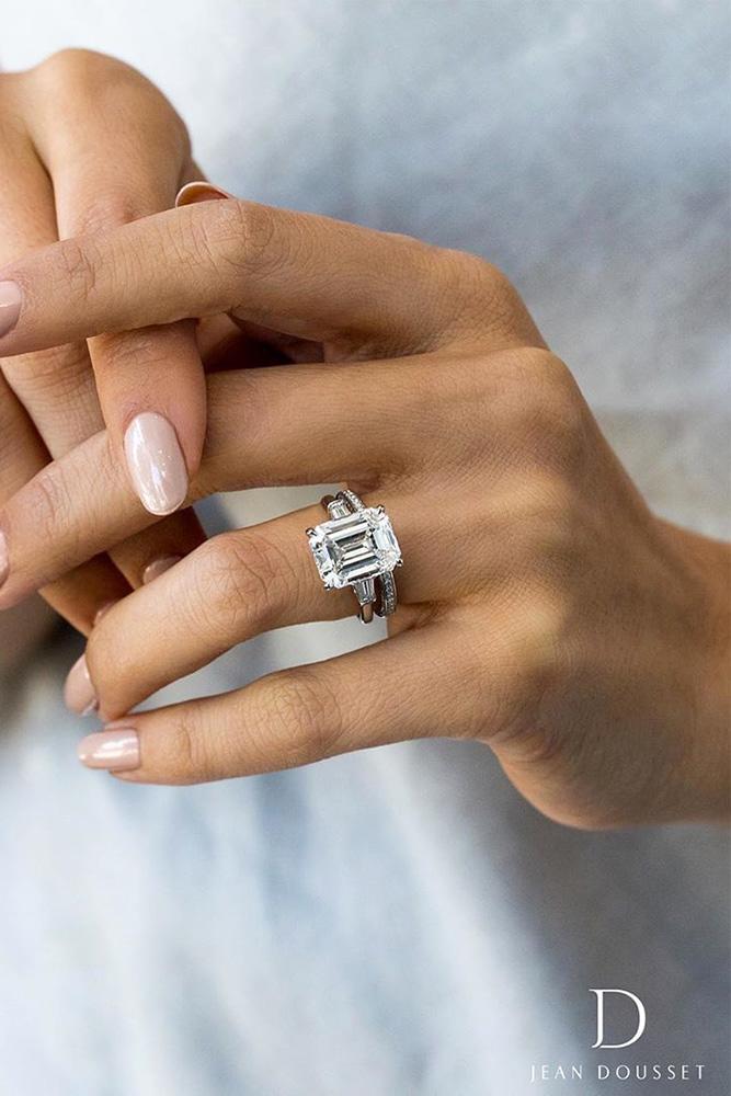 diamond wedding rings white gold engagement rings wedding ring sets bridal sets emerald cut engagement rings best rings