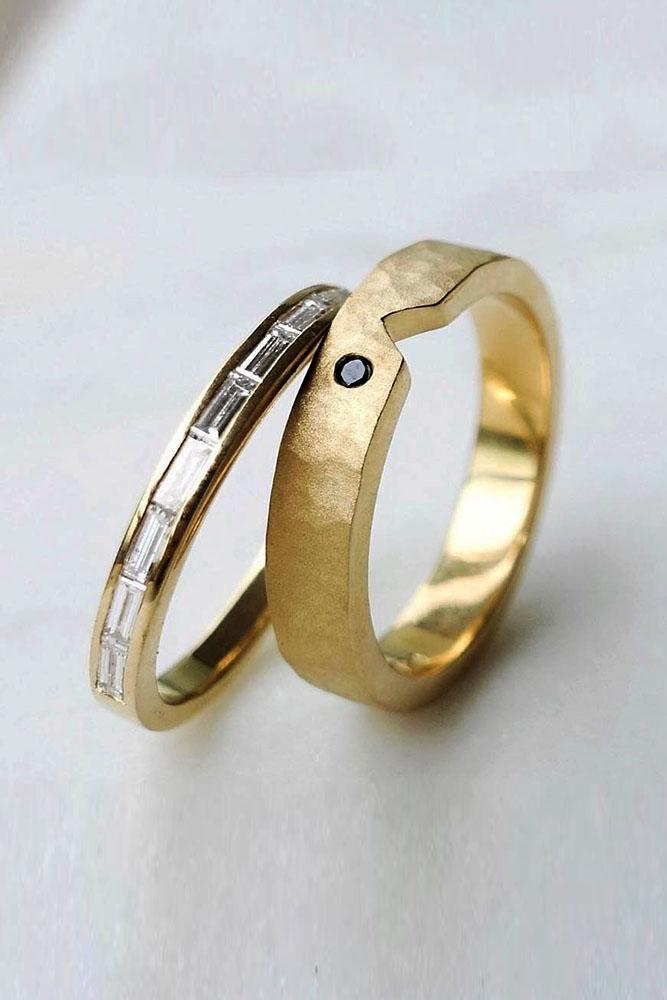 matching wedding bands rose gold wedding rings bridal sets rose gold bridal sets white gold wedding bands two tone wedding bands