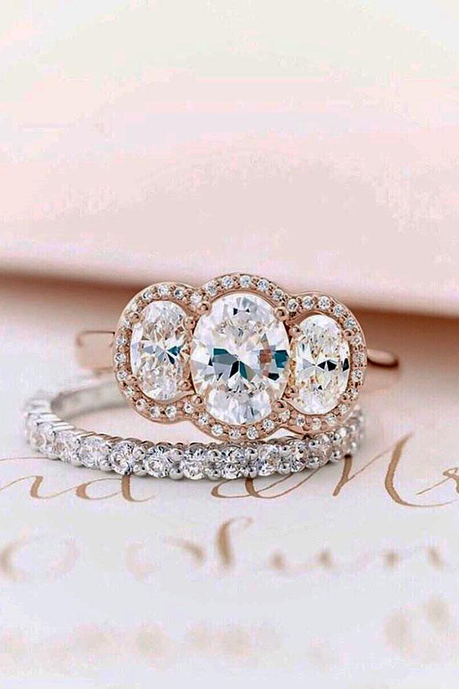 ring trends three stone engagement rings oval cut engagement rings halo engagement rings