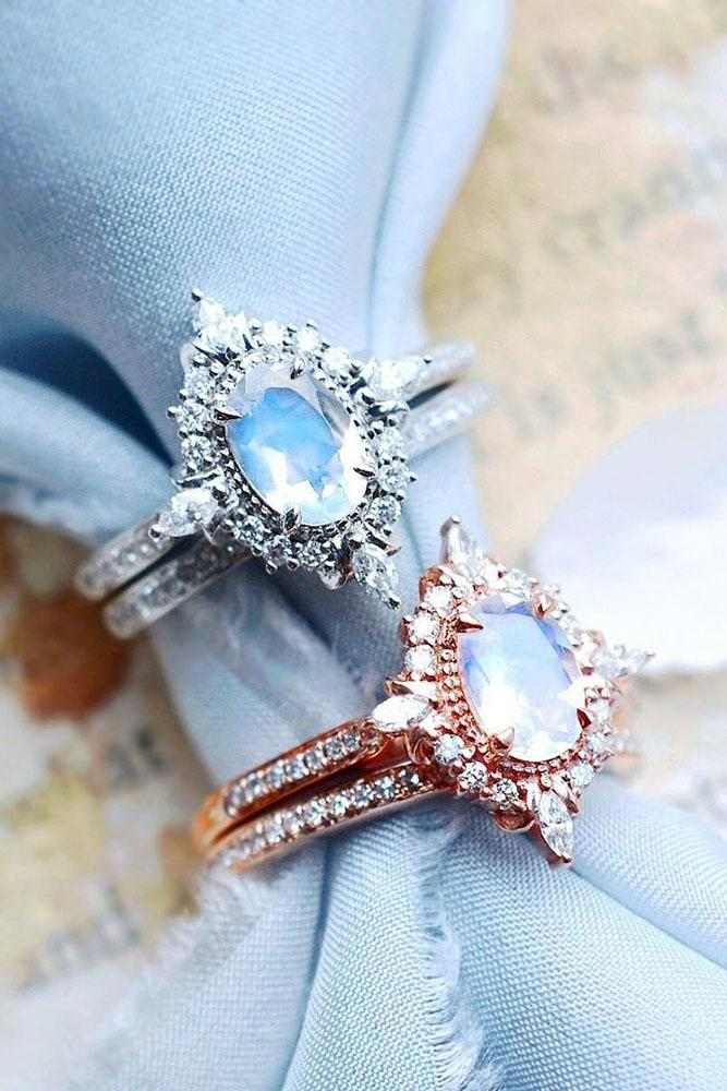 ring trends vintage engagement rings moonstone engagement rings unique engagement rings